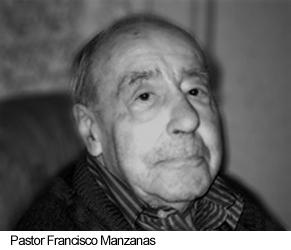 Francisco Manzanas, pastor protestante