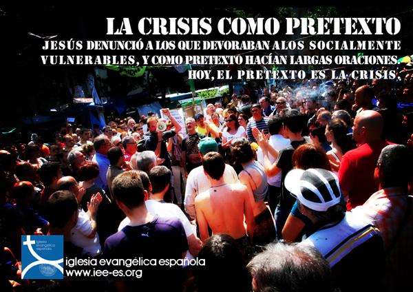 La crisis como pretext