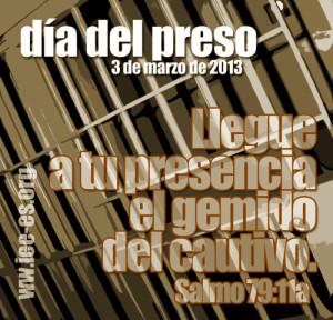 Día del Preso, 2013