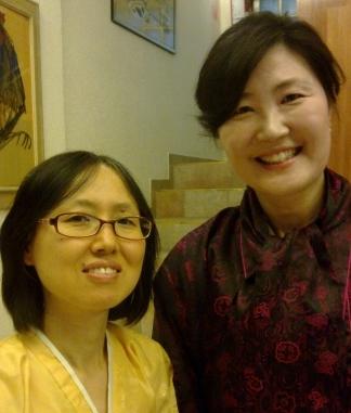 Nan Hee Lee y Hee Soo Kang (Foto: CMIR/Greenaway)