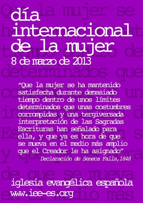 Día de la mujer 2013